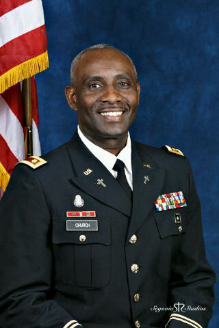 Dr. Kevin W. Church, Sr. (Army Chaplain)