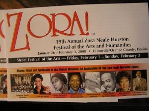 2008 ZORA Festival Banner