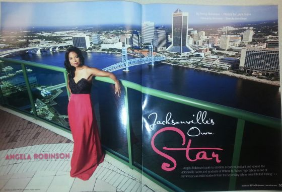 Angela Robinson over Jacksonville