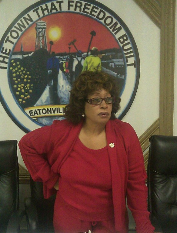 Florida Congresswoman Corrine Brown presents a Town Hall meeting at each ZORA! Fest