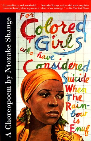 For Colored Girls Book Cover