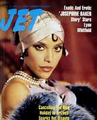 Josphine Baker on the cover of jet