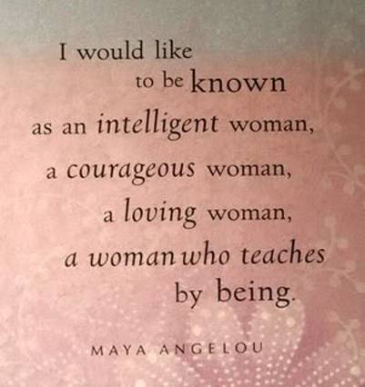 Maya Angelou Quotes About Strong Women