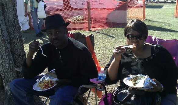 Zora Couple Enjoying Lunch