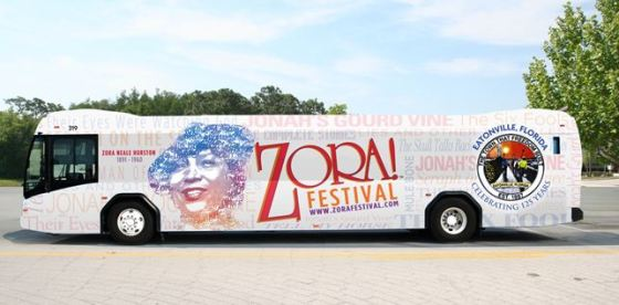 ZORA Festival Promotional Bus