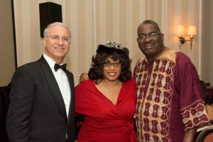 Rachad Bouhlal, Ambassador (Embassy of the Kingdom of Morocco), Congresswoman Corrine Brown (D-Fl), Bruce Mount (Mayor of Eatonville) - Copy