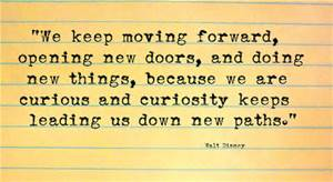 moving forward typed