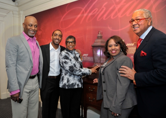 GREY'S ANATOMY STARS CELEBRATE PREMIERE OF NEW AFRICAN-AMERICAN ART COLLECTION AT DISNEY WORLD