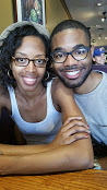 Birthday Kelsey and Donte four eyes