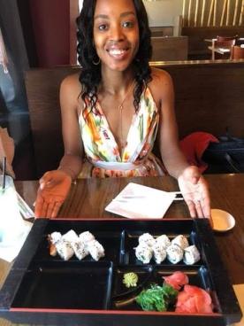 Birthday Kelsey Sushi