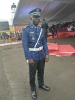 Arrival military man